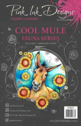 Pink Ink Designs Clear Stamp Cool Mule A5